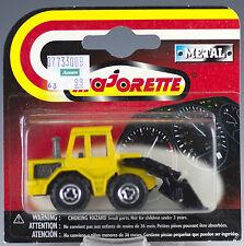 Majorette Die Cast #211 / 263 Shovel Tractor Yellow MOC