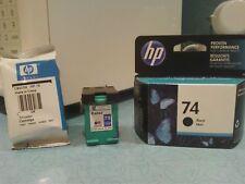 HP Ink Cartridges 74/75 (One black, 2 tri-color)