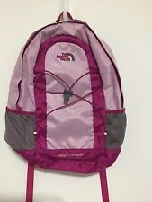 The North Face Quick Dry Hiking Athletic Shorts Orange Black Purple Size 7-8 EUC