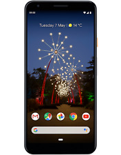 SIM FREE GOOGLE PIXEL 3A FACTORY UNLOCKED 64GB 4GB RAM CLEARLY WHITE