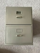 MINI BUSINESS CARD FILING DRAWERS, WITH A-Z INDEX CARDS, VERY CUTE