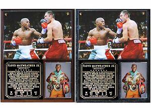 "Floyd ""Money"" Mayweather Undefeated Champion Photo Plaque"