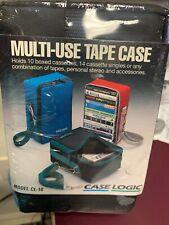 Case Logic CL10 Cassette Case BRAND NEW