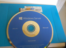 MICROSOFT WINDOWS SERVER 2012 r2 OEM DATACENTER (2 CPU) - *COA / DISK / OPENED
