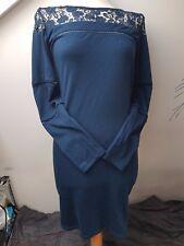 UK8 S MAIA HEMERA Sexy Elegant Lace Front Smart Paris Fashion Office Party Dress
