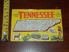 POSTCARD RARE VINTAGE GREETINGS FROM TENNESSEE