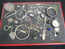PLATA LOTE ANTIGUO VINTAGE - ARGENT MASSIF - STERLING SOLID SILVER - 257 GRAMOS