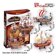 3D Puzzles Arshiner 74PCS 3D Puzzle Haus Schaukel mit Musik Blitz Multifarbe Modellbau Set