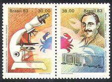 Brazil 1983 Medical/Cancer/Crab/Science s-t pr (n22096)
