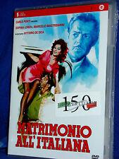 MATRIMONIO ALL'ITALIANA DVD V.De Sica S.Loren M.Mastroianni NUOVO SIGILLATO!!!