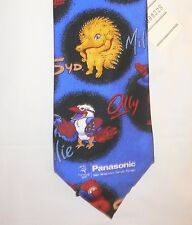 2000 Olympic Games Sydney Original Olympic Tie Sponsors PANASONIC  with Mascots