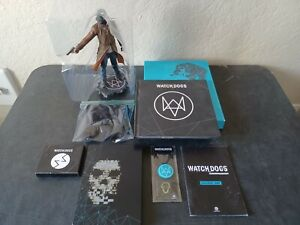 Watch_Dogs Limited Edition PC DVD-ROM CIB with AR Cards, Badges & Map of Chicago