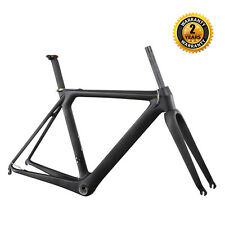 ICAN Carbon Aero Road Bike Frame 54cm Integrated Seatpost+Fork BB86/Di2