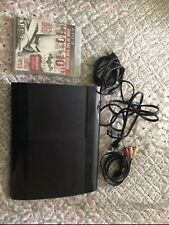 Sony Playstation 3 PS3 Super Slim Pre Owned(works)250GB
