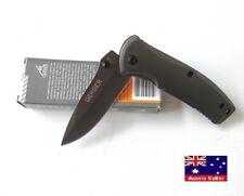 Gerber 342B Folding Hunting Pocket Knives Tactical Survival Outdoor -AUS STOCK