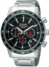 PNP PT3161X1 Pulsar Gents Chronograph Date Display Bracelet Watch