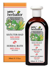 Herbaflor Kräuter Bad Melisse 500 ml Beruhigt und Entspannt Wellness