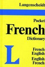 Langenscheidt's Pocket French Dictionary: French-English, English-French (Vinyl