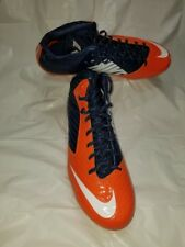 """NEW"" Nike Vapor Speed D 3/4 Mid Football Cleats Men's US Sz14 Orange/Blue/Wht"