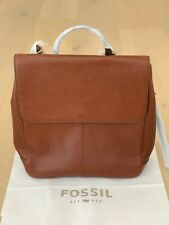 Fossil Claire Backpack Brown