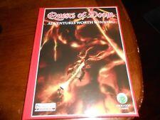 Frog God Games D&D Pathfinder Quests of Doom Signed Hardcover!