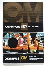 OLYMPUS OM-1 INSTRUCTION MANUAL & LENS GUIDE