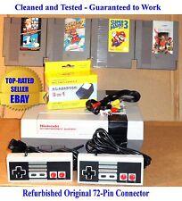 Nintendo NES Console Bundle + Mario Bros 1 2 3 & Contra - BEST PINS - Guaranteed