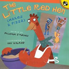 The Little Red Hen Makes a Pizza (pb) by Philemon Sturges  NEW