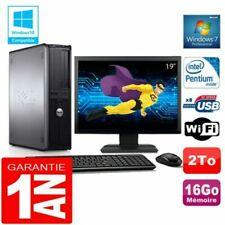 PC de bureau Dell Dell OptiPlex 780 pour 16 Go maximale de la ram