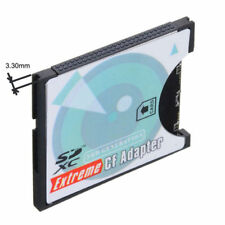 SD to CF Card Adapter MMC SDHC SDXC to Standard Compact Flash Type 2 Converter
