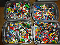 4 pounds LBS of Bulk Legos! Cleaned Sanitized Bricks & other assorted pieces Lot