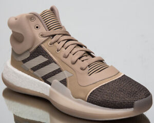 adidas Marquee Boost Men's New Trace Khaki Brown Black Basketball Shoes G27734