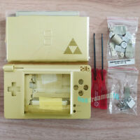 Gold Zelda Replacement Full Housing Shell Case Cover For Nintendo DS Lite NDSL