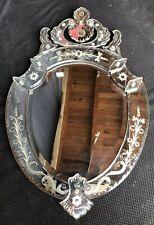 Mirror Venetian Time 1950 Art Déco