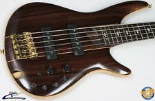 Ibanez SR1905E Premium 5-String Electric Bass w/ Gig Bag Natural NM!! #34346