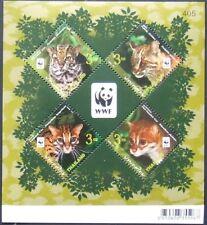 Thailand 2011 Cats,Tiger-1 M/Sh,Perf. MNH, TH 057