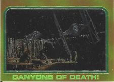 1999 Topps Star Wars Chrome Archives #39 Canyons Of Death! > Millennium Falcon