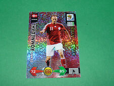 ROMMEDAHL DANMARK PANINI FOOTBALL FIFA WORLD CUP 2010 CARD ADRENALYN XL