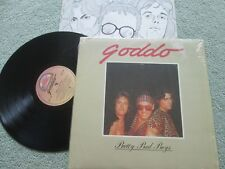 Goddo ‎– Pretty Bad Boys Label: Attic ‎– LAT 1120 UK Vinyl LP Album