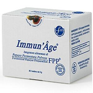 Immun'Age 60 Bustine Named Papaya Fermentata Integratore Antiossidante Immunage