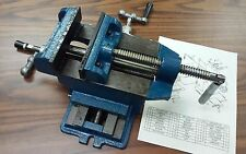 "opening Heavy duty #850-DP04-NEW 4/"" American type Drill Press Vise 4/"" max"
