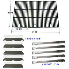 Perfect Flame 5 Burner 720-0522 Replacement Burners, Heat Plate, Cooking Grids