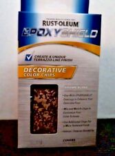 Rust-Oleum 238472 EpoxyShield Decorative Color Chips, Brown Blend, FREE SHIPPING