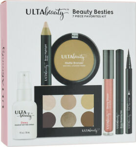 ULTA Beauty  Beauty Besties 7 Piece Favorites Kit LIPGLOSS BRONZER EYELINER SETS