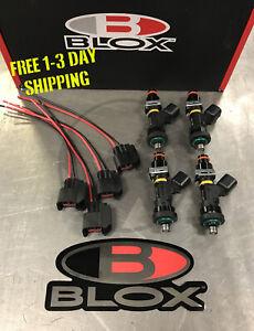Blox Racing Eco-Fi Street Injectors 1000cc Set of 4 for Honda Acura B D H Series