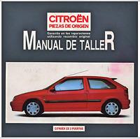 Manual Citroen ZX Piezas de origen (En CD) Workshop Reparation.