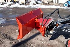 "new 48 "" 4 way dozer blade plow for mini skid steer fits Dingo, Ditch Witch"
