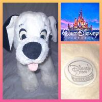 Disney Store Large Lucky 101 Dalmatians Dalmation Puppy Dog Soft Toy Plush Teddy