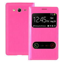 Housse Etui Coque View Case ROSE Samsung Galaxy Grand Plus/ Neo/ Lite I9060