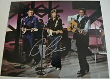Vintage ERIC CLAPTON Hand Signed Autographed Photo w/ CARL PERKINS & JOHNNY CASH